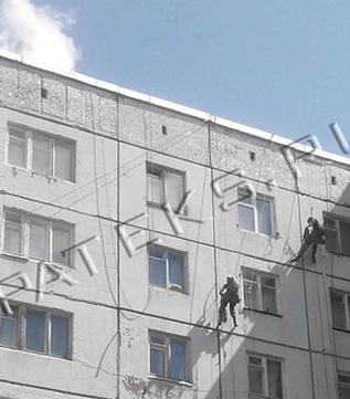 Углы на доме промерзают стены