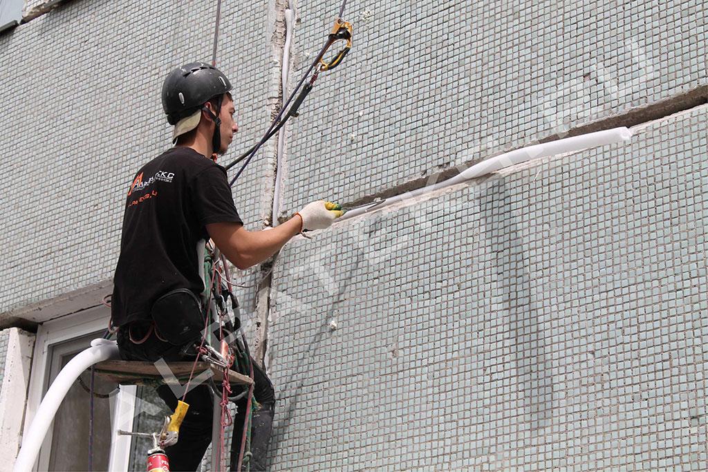 Стена промерзает как утеплить изнутри