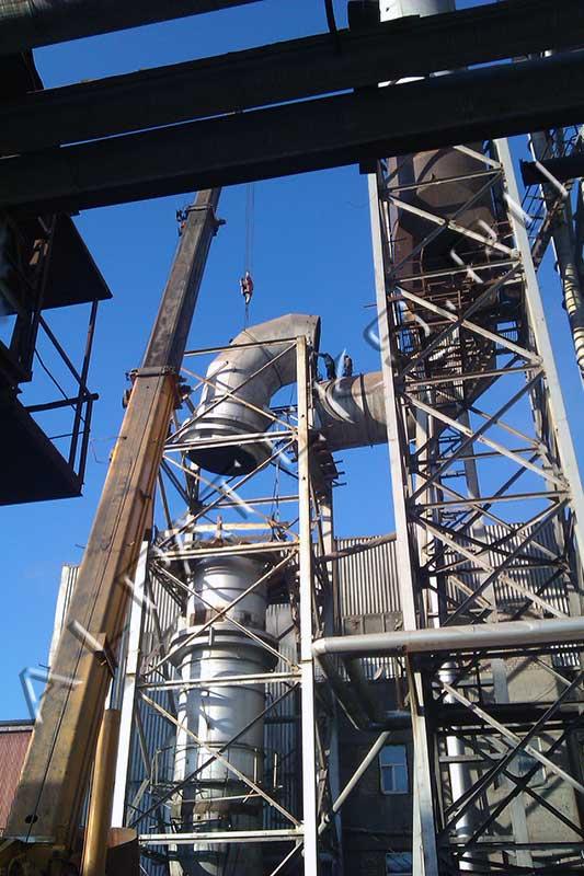 Ведомость демонтажа металлоконструкций